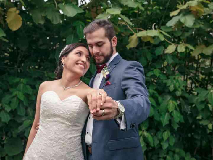 La boda de Liz y Chris