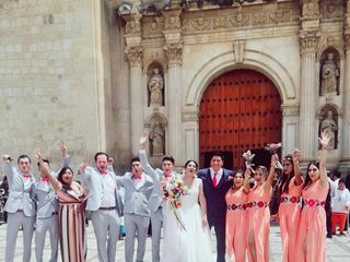 La boda de Nayeli  y Alexis  3