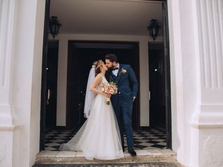 La boda de Naidelyn y David