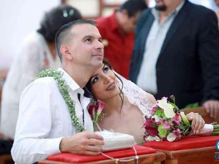 La boda de Jorge Luis y Irma Nayeli