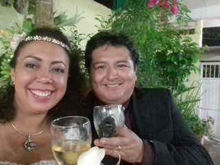 La boda de Reyna Guadalupe y Román