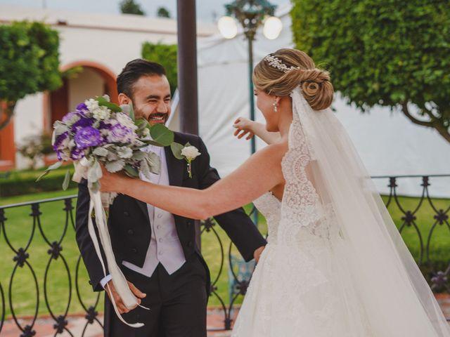 La boda de Arturo y Andrea en Querétaro, Querétaro 13