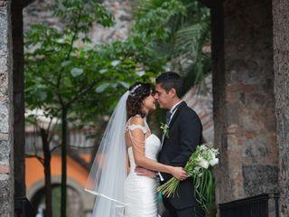 La boda de Anavi y Paco