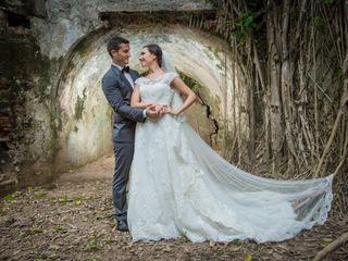 La boda de Alejandra y Kristian
