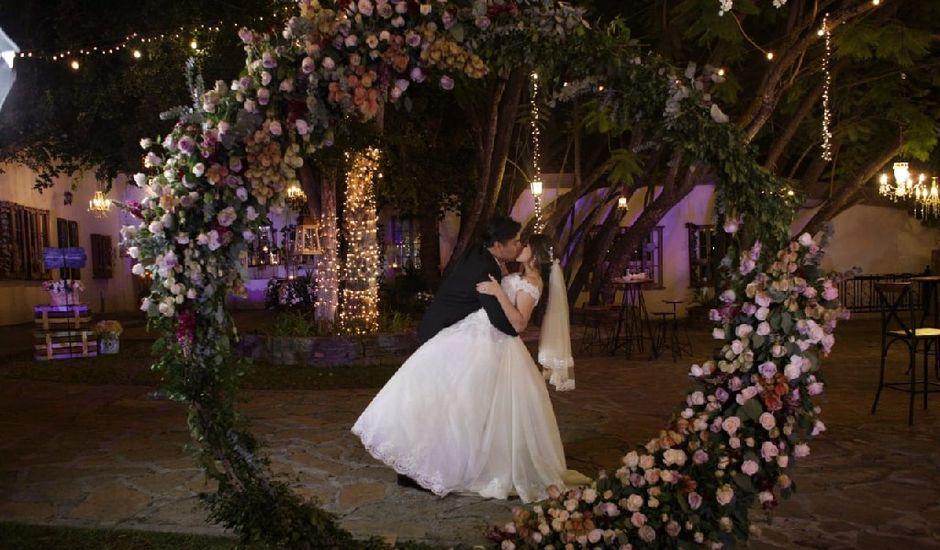 La boda de Adán  y Karen  en Santiago, Nuevo León