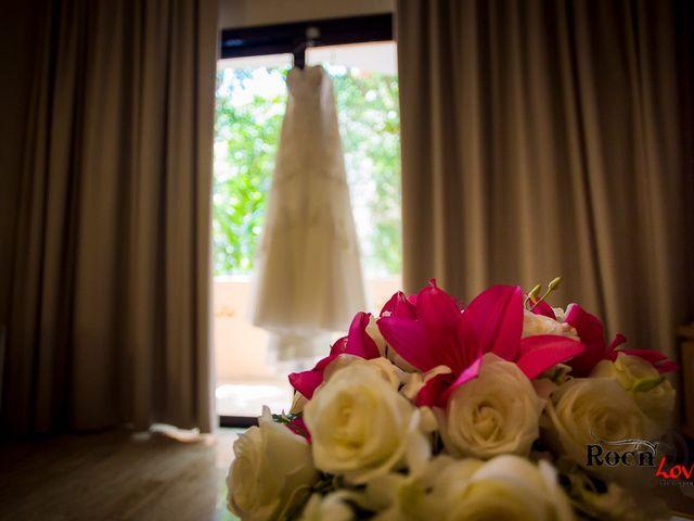 La boda de Ángel Eduardo y Alejandra en Puerto Aventuras, Quintana Roo 1