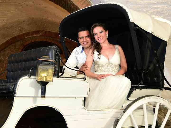 La boda de Denisse y Antonio