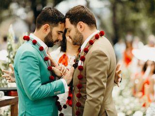 La boda de Alonso y Javier