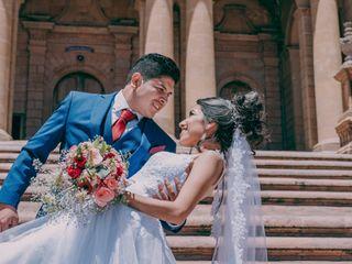La boda de Violeta y Adán