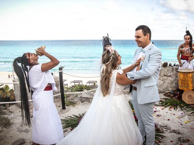 La boda de Joshua y Iris en Cancún, Quintana Roo 12