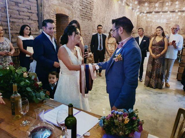 La boda de Armando y Karen en Pabellón de Arteaga, Aguascalientes 2