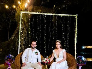 La boda de Stefania y Erick