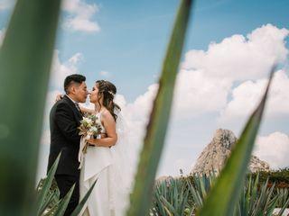 La boda de Alejandra y Amaury