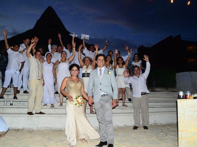 La boda de Luis y María en Puerto Morelos, Quintana Roo 1