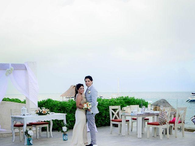 La boda de Luis y María en Puerto Morelos, Quintana Roo 2