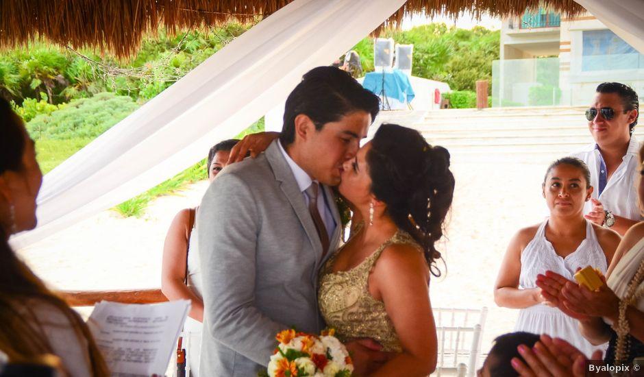 La boda de Luis y María en Puerto Morelos, Quintana Roo