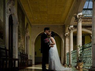La boda de Alhelí y Erick