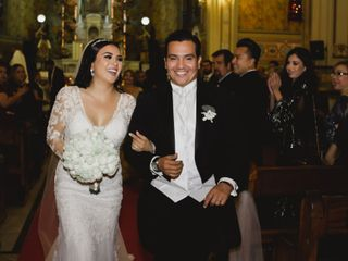 La boda de Stephanie y David