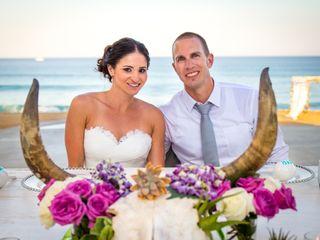 La boda de Monique y Robert