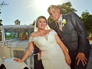 La boda de Cecilia  y Adan Hiram