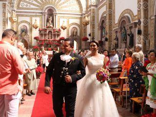 La boda de Yuriana  y Santiago 1