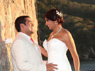 La boda de Mitzi y Luis