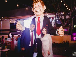 La boda de Fabiola y David