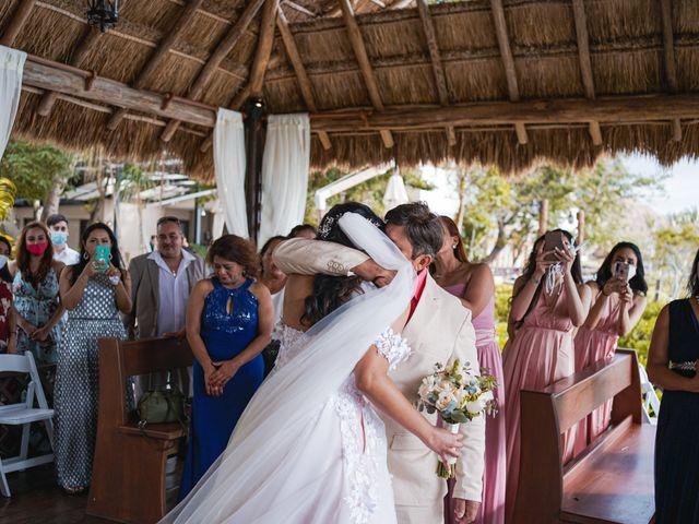 La boda de Gustavo y Ariadna en Cozumel, Quintana Roo 36