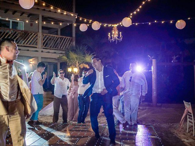 La boda de Gustavo y Ariadna en Cozumel, Quintana Roo 91