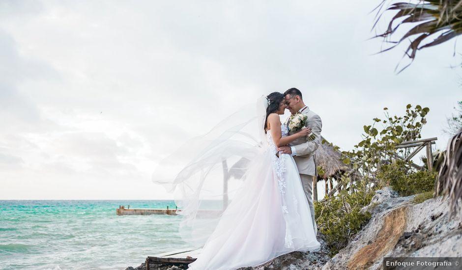 La boda de Gustavo y Ariadna en Cozumel, Quintana Roo