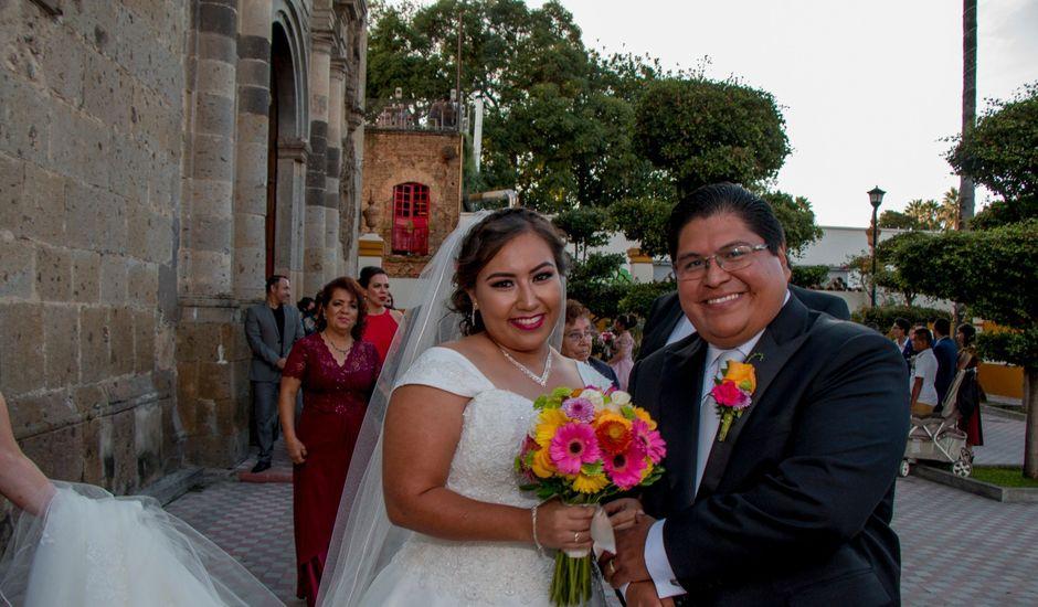 La boda de Jesús y Carolina en Tlaquepaque, Jalisco