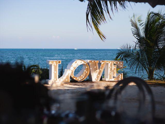 La boda de Yahel y Tatiana en Cancún, Quintana Roo 42
