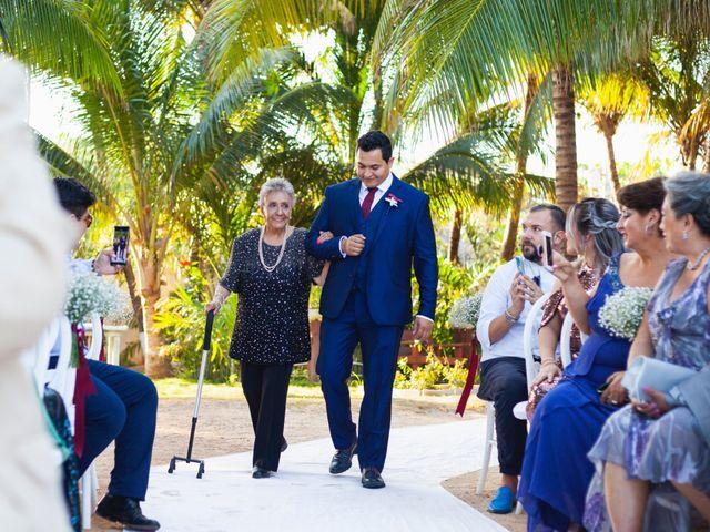 La boda de Yahel y Tatiana en Cancún, Quintana Roo 45