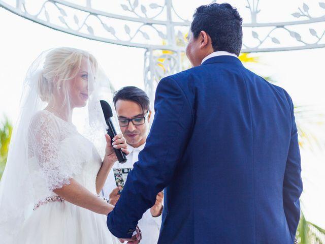 La boda de Yahel y Tatiana en Cancún, Quintana Roo 55