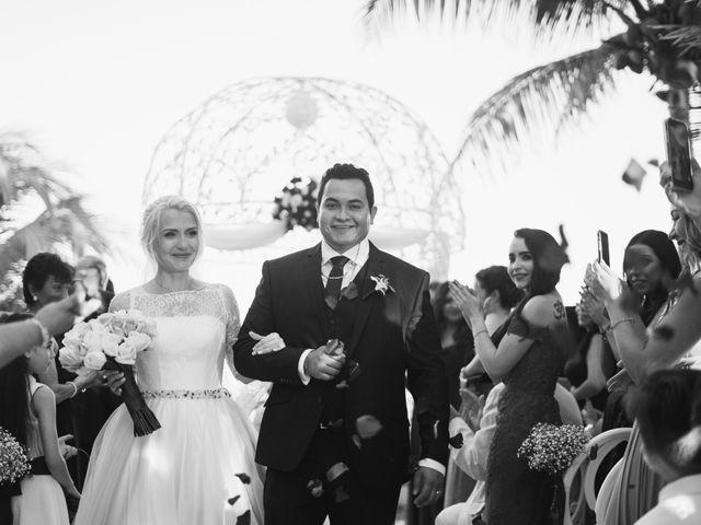 La boda de Yahel y Tatiana en Cancún, Quintana Roo 63