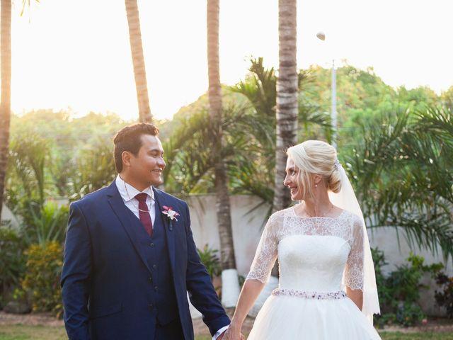 La boda de Yahel y Tatiana en Cancún, Quintana Roo 75