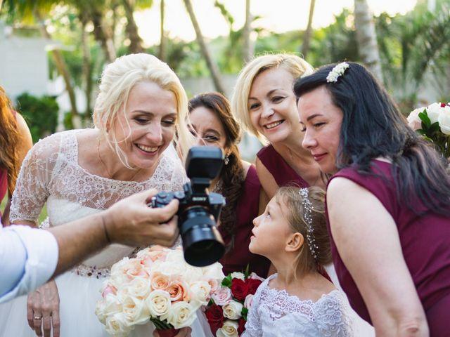 La boda de Yahel y Tatiana en Cancún, Quintana Roo 78