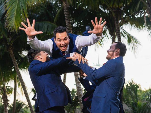 La boda de Yahel y Tatiana en Cancún, Quintana Roo 82