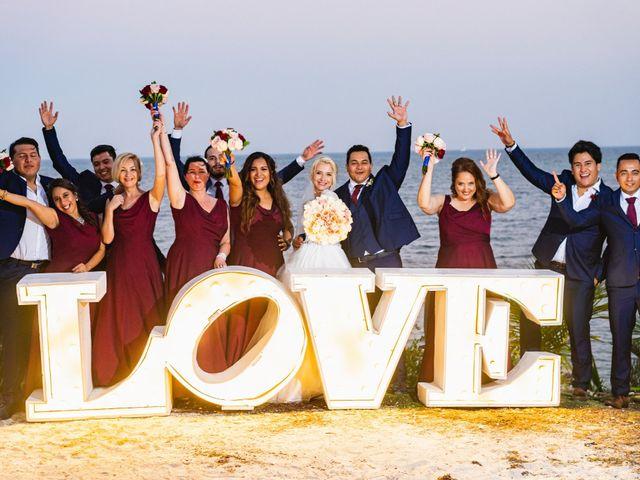 La boda de Yahel y Tatiana en Cancún, Quintana Roo 86