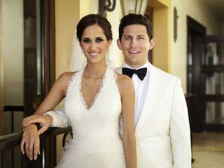 La boda de Cristy y César