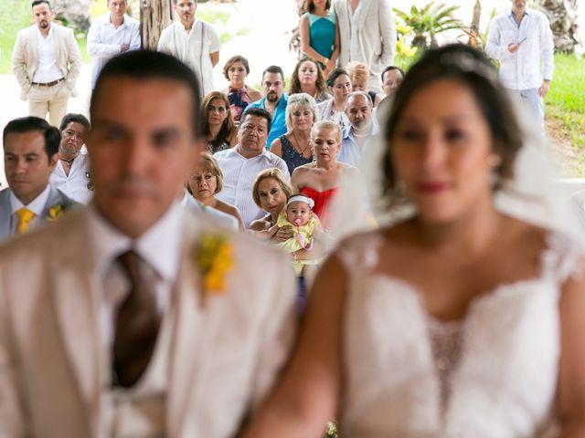 La boda de Álex y Karla en Cancún, Quintana Roo 16