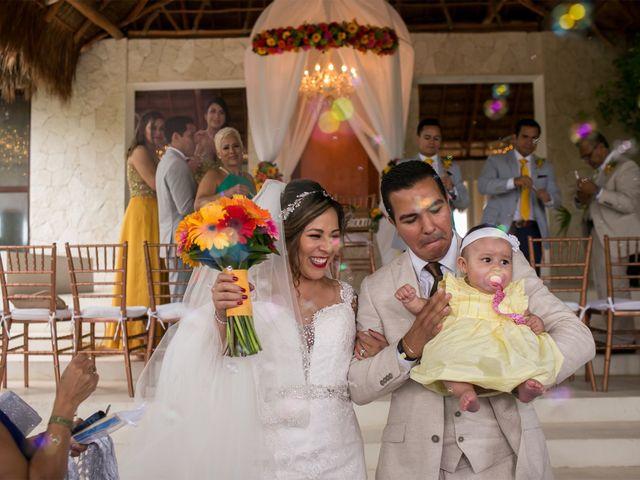 La boda de Álex y Karla en Cancún, Quintana Roo 23
