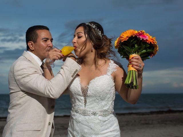 La boda de Álex y Karla en Cancún, Quintana Roo 24