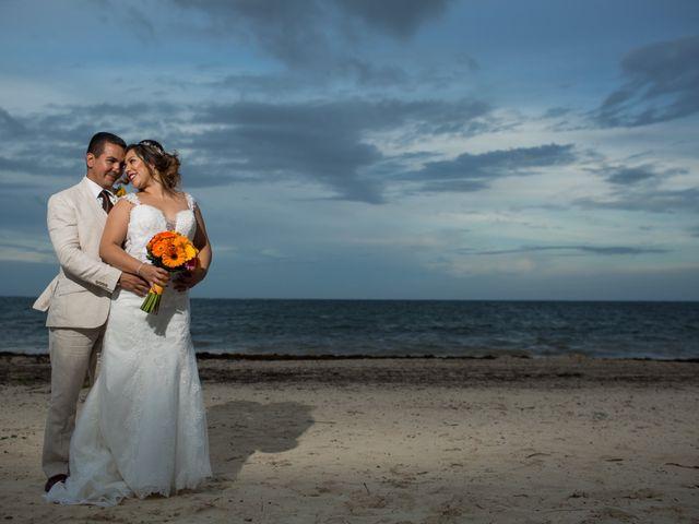 La boda de Álex y Karla en Cancún, Quintana Roo 25