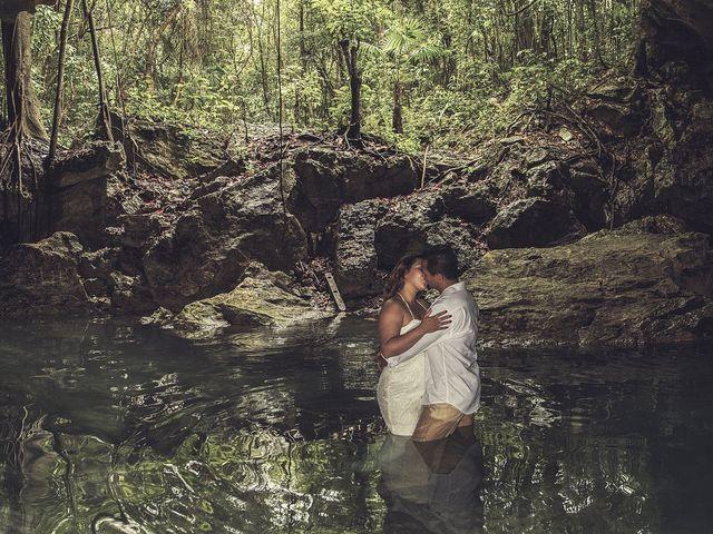La boda de Álex y Karla en Cancún, Quintana Roo 33