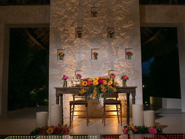 La boda de Álex y Karla en Cancún, Quintana Roo 37