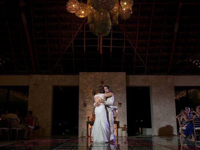 La boda de Álex y Karla en Cancún, Quintana Roo 41