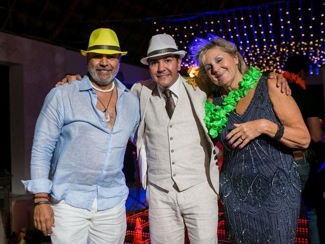 La boda de Álex y Karla en Cancún, Quintana Roo 43