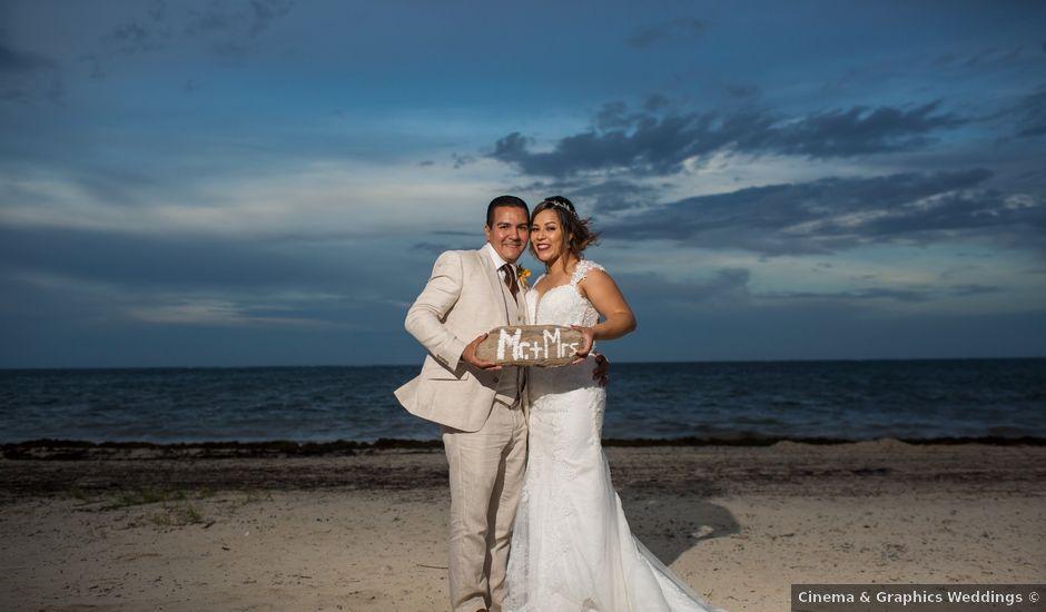 La boda de Álex y Karla en Cancún, Quintana Roo