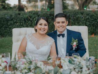 La boda de Óscar y Stefany